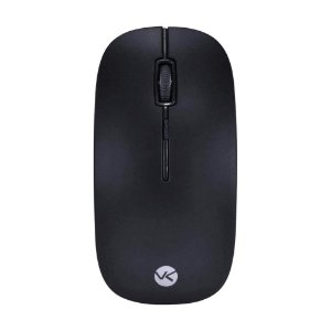 Mouse Óptico Sem Fio 1200 DPI Preto Vinik DM100