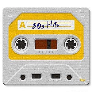 Mouse Pad Fita Cassete 80s Hits 23x20cm Yaay! PAD050