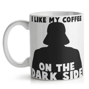 Caneca de Cerâmica 325ml Geek Side Dark Coffee Yaay! CAN132