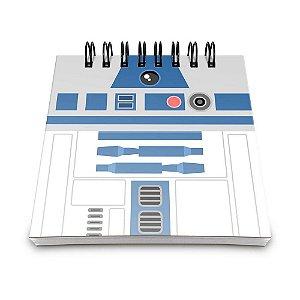 Bloco de Anotações 60 Folhas Geek Side R2 Yaay! BLO003