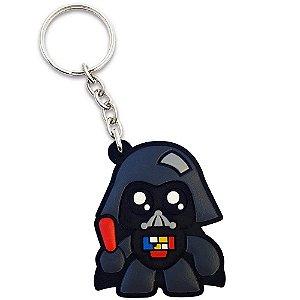 Chaveiro Emborrachado Geek Side Vader Yaay! KEY029