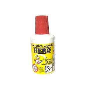 Corretivo Líquido 18ml Base d'Água Hero 0248