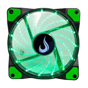 Cooler Fan 120mm 12cm LED Verde Rise Mode RM-WN-01-BG