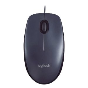 Mouse Óptico USB 1000 DPI Cinza Logitech M100