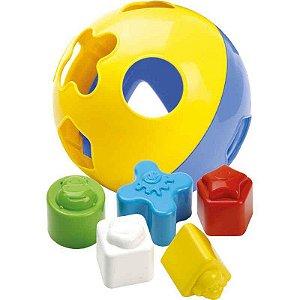 Bola Didática com Blocos de Encaixar Merco Toys 282 DIVERSAS