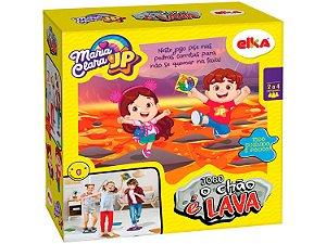 Jogo O Chão é Lava Maria Clara e JP Elka