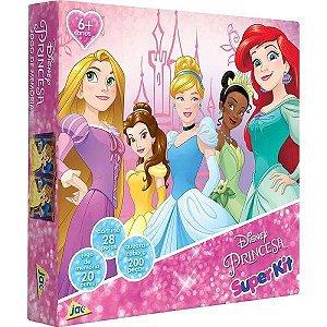 Jogo Super Kit Princesas 3 Em 1 - Toyster