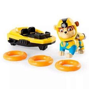 Boneco Patrulha Canina Figuras de Luxo - Patrulheiro Marinhos 19cm Sunny Brinquedos