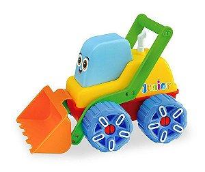 Trator De Brinquedo Carregadeira Infantil - Junior Machines