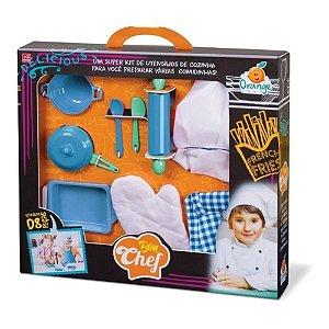 Brinquedo Bom Chef De Cozinha Menino Orange