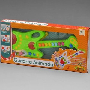 Guitarra Animada - Coloria