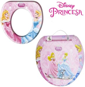 Adaptador Infantil Para Vaso Sanitário Disney - Princesas