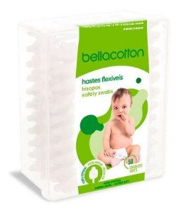 Cotonete Para Bebês Hastes Flexíveis