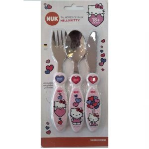 Talheres de Inox Hello Kitty