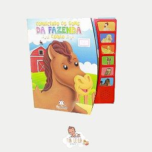 Livro Sonoro - Conhecendo o som da fazenda - Blu Editora