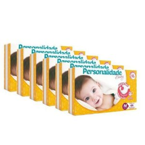 Fralda infantil personalidade baby ultra sec - 44 unidades
