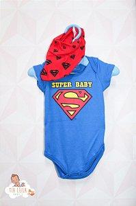 Body c/ Bandana - Super Baby - Marlan TAM M