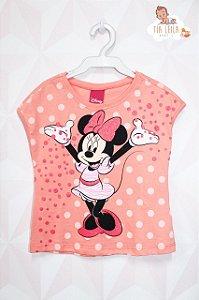 Camiseta da Minnie - Laranja ou Amarela - Disney
