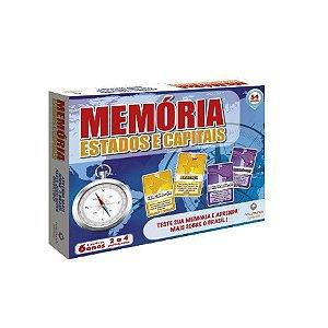 Jogo da Memória - Estados e Capitais