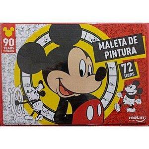 Maleta Para Desenho Mickey Com 72 Peças - Molin
