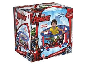 Piscina de Bolinhas Marvel Avengers 100 Bolinhas - Lider Brinquedos