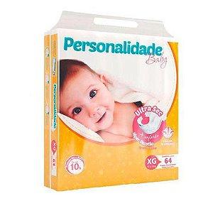 Fralda Descartável Infantil Personalidade Ultra Sec XG C/64