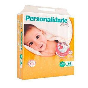 Fralda Descartável Infantil Personalidade Ultra Sec XXG C/56