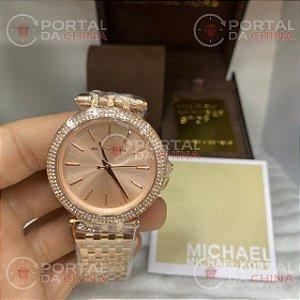 Relógio Michael Kors Mk3192 Feminino Rose