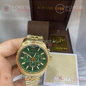 Mk8446 Dourado/ Verde
