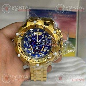 Venon Hibryd - Dourado Fundo Azul