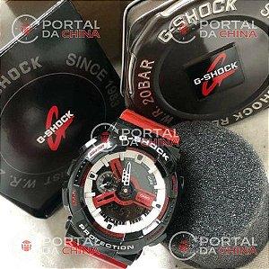 G-shock - VERMELHO/PRETO