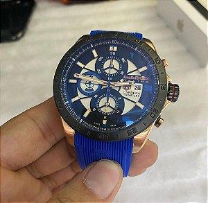 TAG HEUER (Red Bull) Pulseira azul