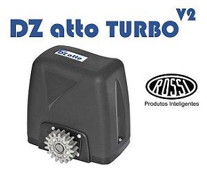 Kit Motor Deslizante DZ Atto V2 36 Turbo Rossi - Para portões até 350Kg