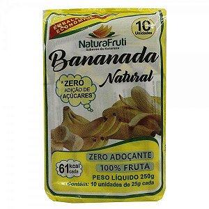 Bananada sem açúcar 250 Gr c/ 10 Unidades