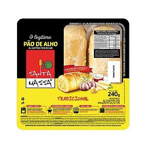 Pão de Alho Tradicional - Santa Massa 240 Gr