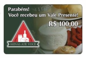 Vale Presente R$ 100