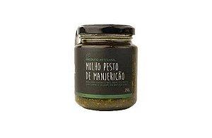 Molho Pesto de Manjericão -  Gaia 200 Gr