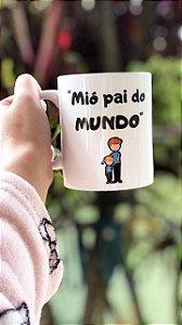 Caneca de Café 325 Ml - Mió Pai do Mundo