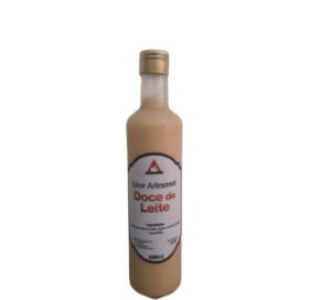 Licor Artesanal de Doce de Leite - 500 Ml