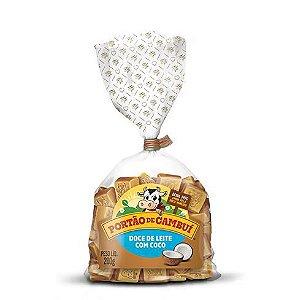 Pacote de doce de leite com coco em cubos - 200 gr