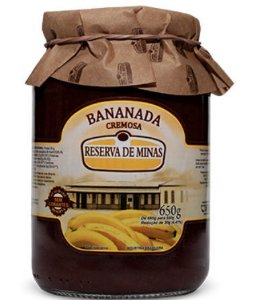 Bananada Cremosa - Reserva de Minas 650 GR