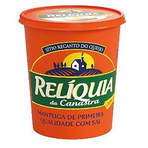 Manteiga Relíquia da Canastra  com Sal - 500 Gr