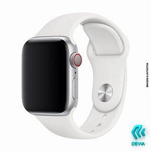 Pulseira Apple Watch Silicone 40mm White Devia