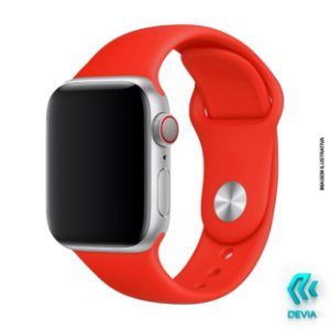 Pulseira Apple Watch Silicone 40mm Red Devia