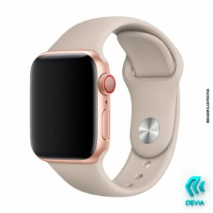 Pulseira Apple Watch Silicone 44mm Stone Devia