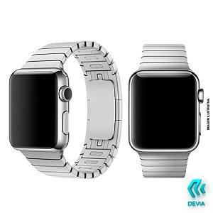 Pulseira Apple Watch Metal 40mm Silver Devia