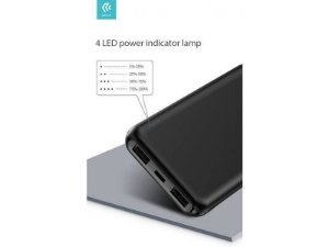 Carregador Power Bank 10000 Guardian BK Devia
