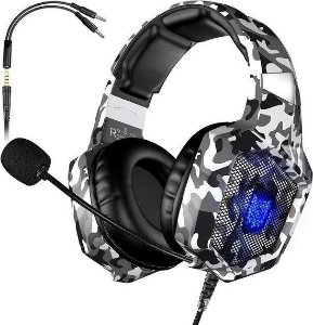 Headphone Onikuma camuflado K8