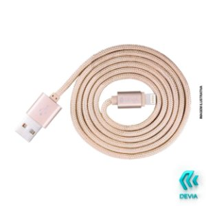 Cabo Lightning Devia Rosê iPhone Fashion Homologado 1.2m