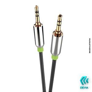 Cabo P2-P2 iPure Audio Cable P2 Preto 0380-IPR-BK